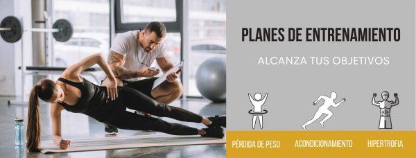 Planes de entrenamiento personalizado online o presencial en Bogotá